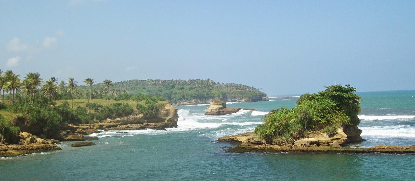 Pantai Ujung Genteng Pesona Pnatai Cantik Di Jawa Barat Jawa Barat