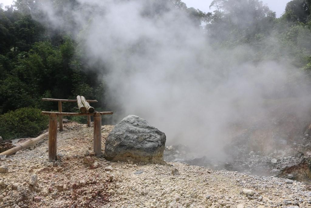 Air Panas Gemuhak Sumber Mata Air Panas di Sumatera Selatan