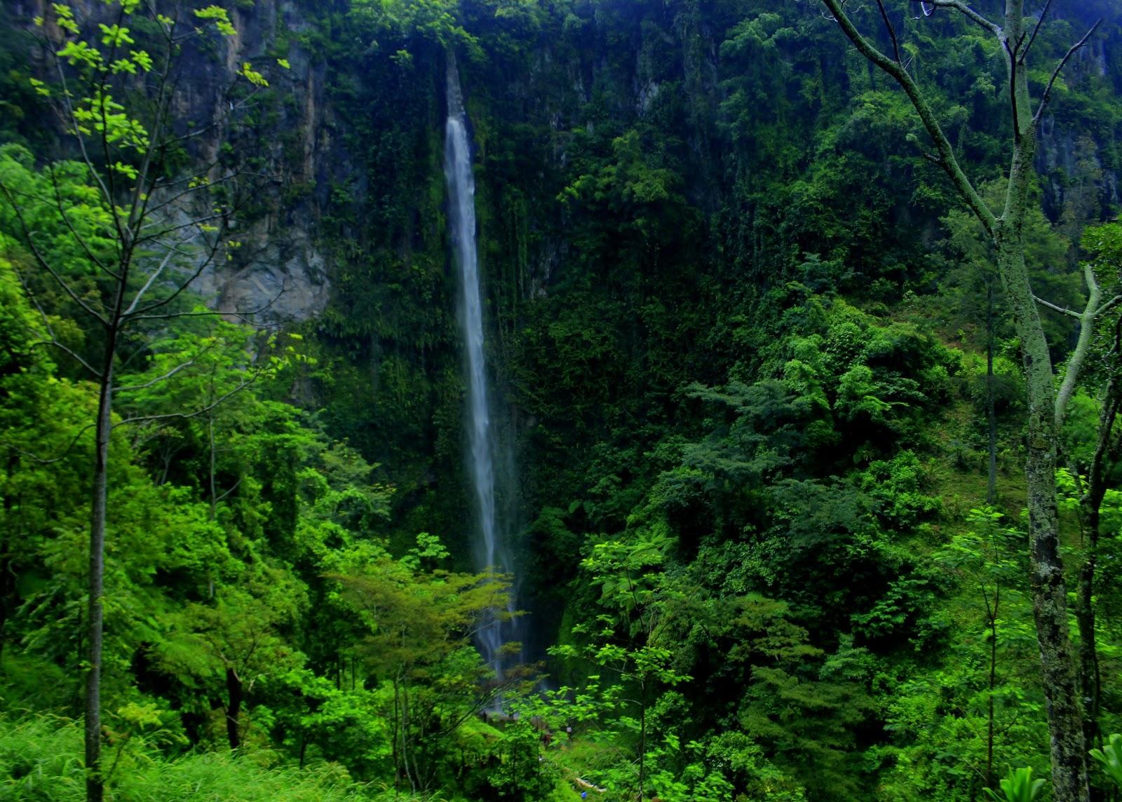 Air Terjun Kali Pancur yang Penuh Keindahan Alam di Jawa Tengah - Jawa Tengah