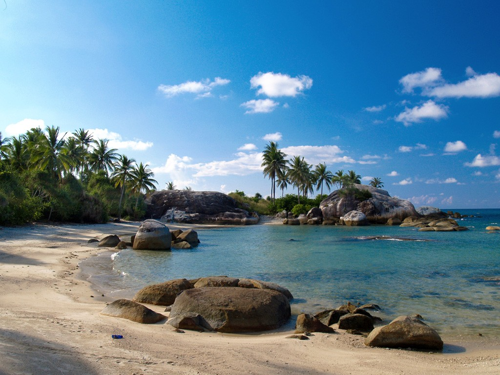 Pantai Punai Wisata Eksotis Di Kepulauan Bangka Belitung