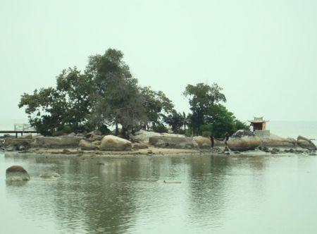 Pulau Simping Kalimantan Barat Keindahan Pulau Terkecil di Dunia