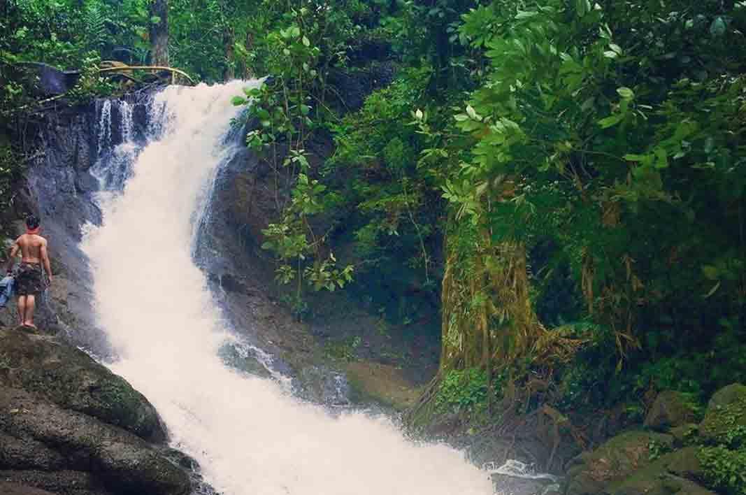 Curug Bibijilan Air Terjun Mempesona di Sukabumi Jawa Barat