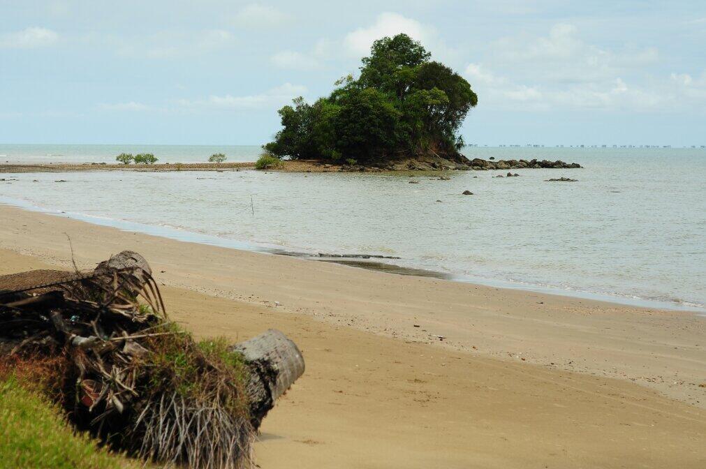 Pantai Batu Lamampu Pesona Ambalat Di Kalimantan Utara Kalimantan Utara