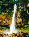 Air Terjun Saringgana Sejuta Keindahan di Sumatera Utara