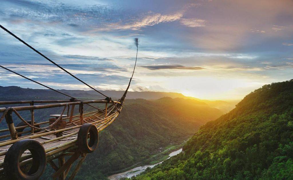 Jurang Tembelan Wisata Alam Tebing Perbukitan Di Yogyakarta Yogyakarta