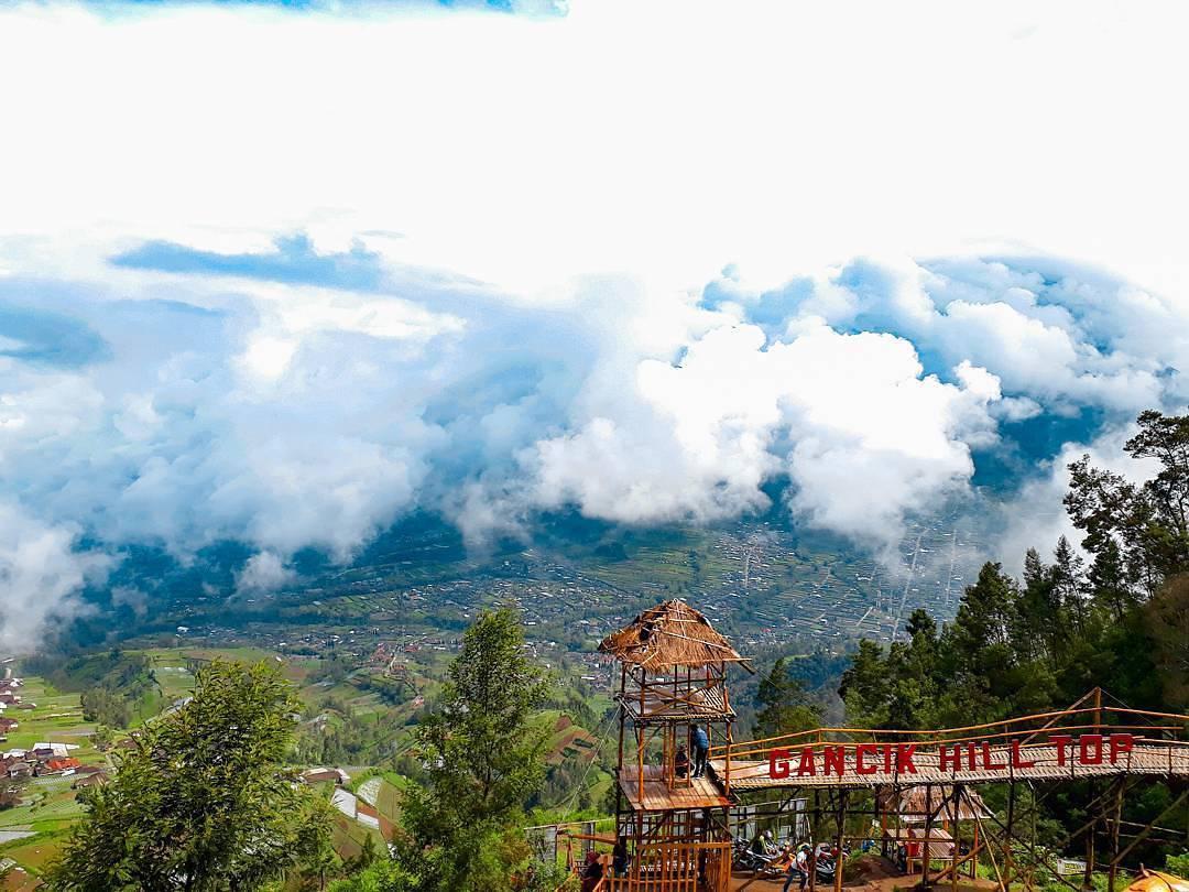 Bukit Gancik Boyolali Sensasi Berasa Di Atas Awan Jawa Tengah