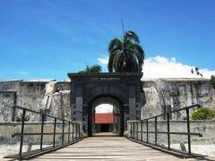 Benteng Malborough di Bengkulu