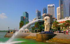 Patung Merlion Singapore