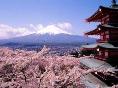 Pemandangan Gunung Fuji Jepang