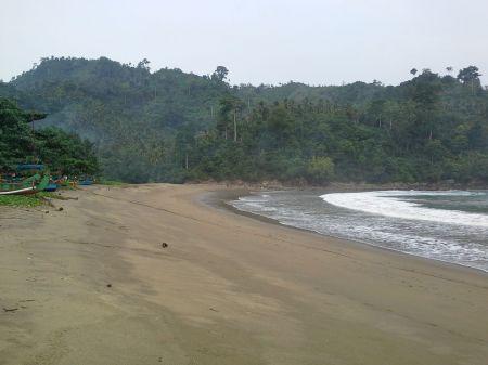 Playa de Wedi Awu en Malang