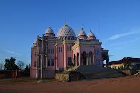 masjid pink kepulauan riau - Tempat Wisata Paling Indah di Kepulauan Riau