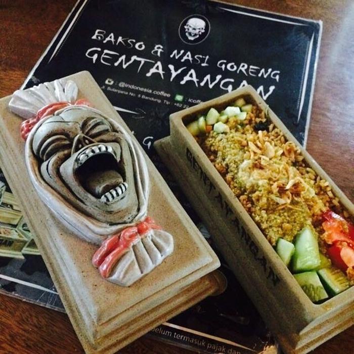 Nasi Goreng Gentayangan Sajian Seram Dan Unik Di Bandung