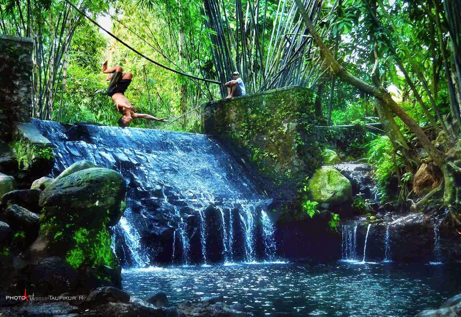Wisata Alam Blue Lagoon yang Asri di Sleman Yogyakarta - Yogyakarta