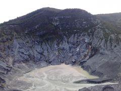 Kawah Gunung Tangkuban Perahu