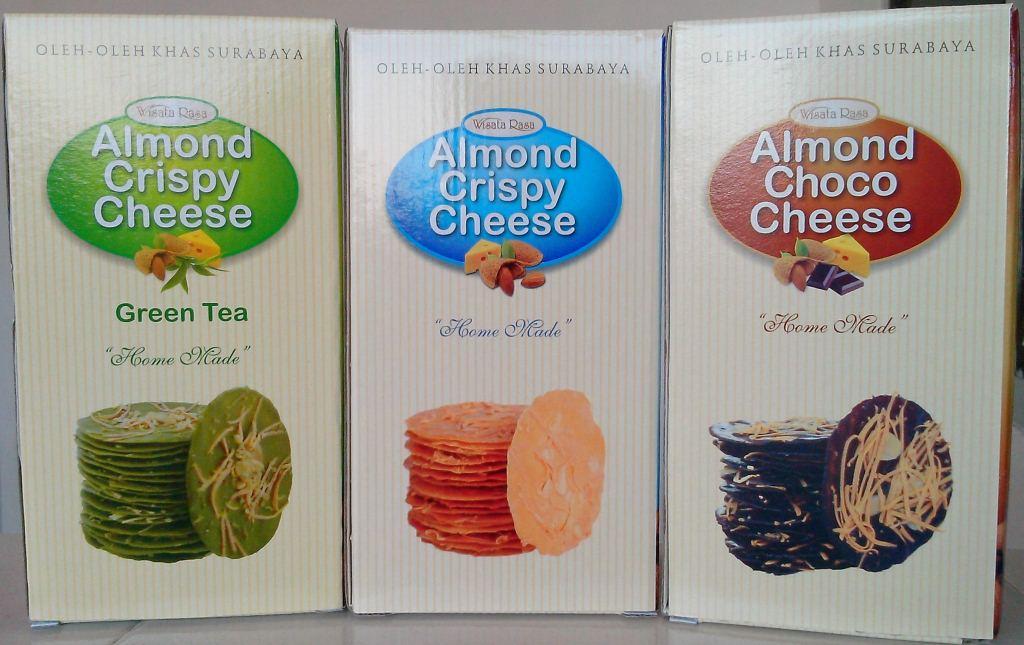 via ksm tour - almond crispy cheese
