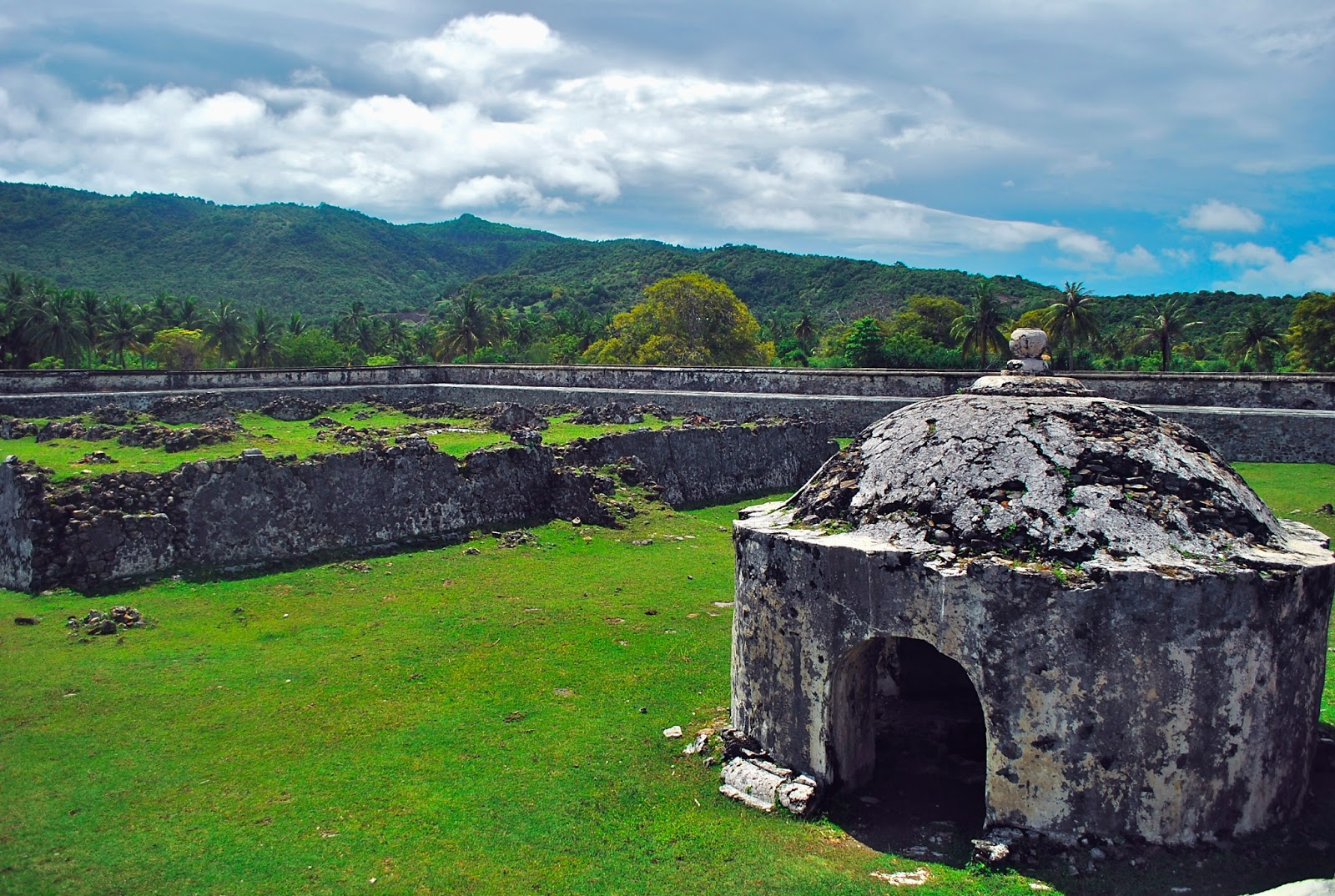 Benteng Indra Patra Bukti Sejarah Hindu Buddha Di Aceh Aceh