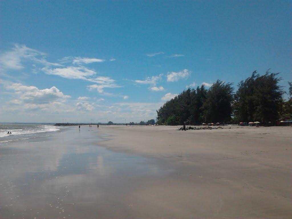 Pantai Gandoriah Panorama Indah Di Kota Sala Lauak Sumatera Barat Sumatera Barat